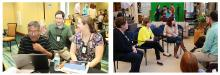Professionals collaborate during an ILEAD workshop.