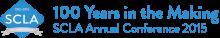 scla 100th logo