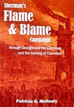 sherman's flame and blame book cover