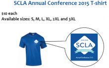scla conference t shirt