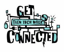 teen tech week logo