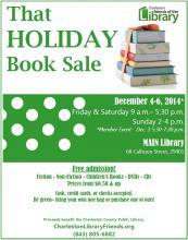ccpl friends book sale december 2015 flier