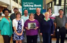 talking book services staff members