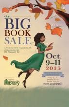 CCPL book sale poster