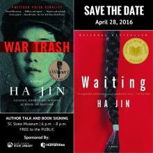 ha jin book covers