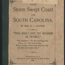 storm swept coast of sc cover