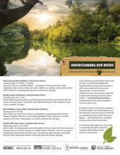 understanding our rivers flier