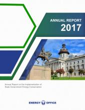 energy office annual report cover