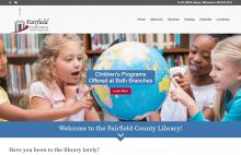 fairfield county library new website
