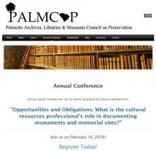 palmcop web page