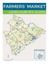 DHEC farmers market guide cover