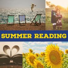 summer reading collage