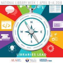 national library week logo