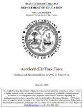 cover image of Guidance and Recommendations for 2020-21 School Year