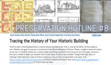 cover image of Preservation Hotline