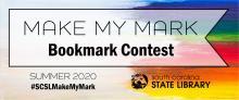 Make My Mark Bookmark Contest Banner