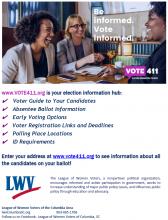 vote411 flyer