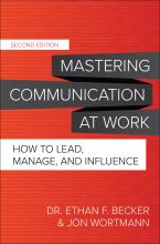 book cover for Mastering Communication at Work