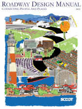 cover artwork of Roadway design manual : connecting people and places by SC DOT