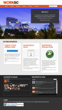 WorkSC website