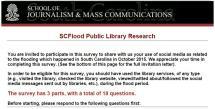 sc public library flood survey graphic