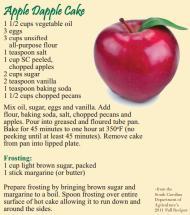 apple dapple cake recipe image