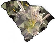 usc herbarium sc map image