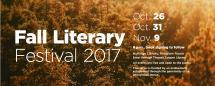 usc fall literary festival banner