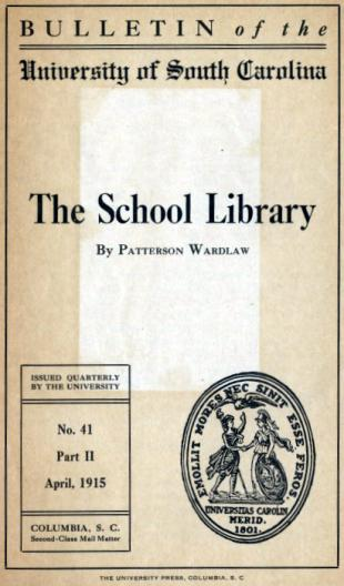 the school library usc bulletin