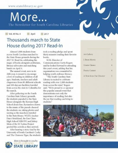 More newsletter cover april 2017