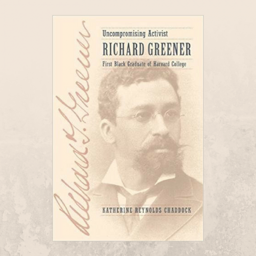 book cover for Uncompromising Activist Richard Greener
