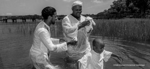 Shadows of the Gullah Geechee by Pete Marovich is curated by American Reportage.