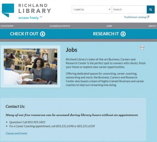 richland library website image