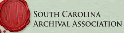 South Carolina Archival Association logo