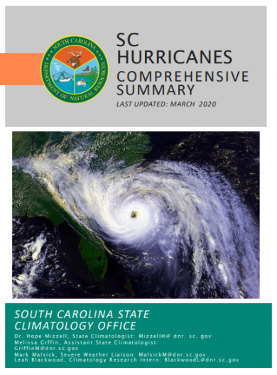 SC Hurricanes publication cover image
