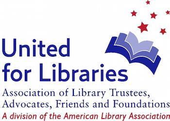 United for Libraries logo