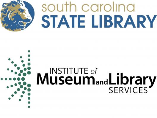 Logos for South Carolina State Library and Institute of Museum and Library Services