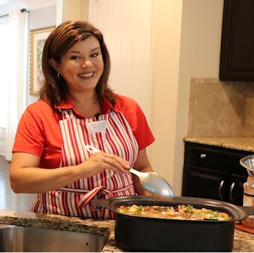 Ellen Dunn Stirring Pot of Soup
