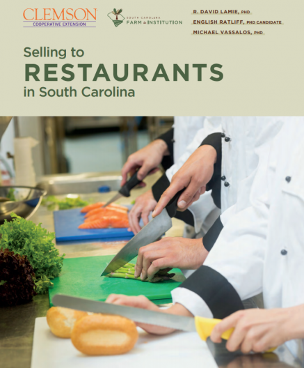 cover image of Selling to Restaurants in SC document