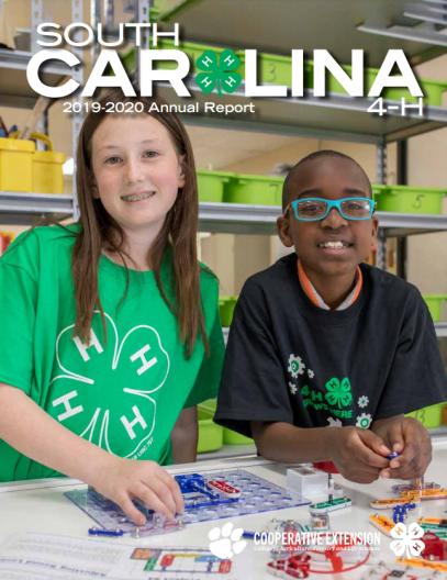 South Carolina 4H Annual Report Cover