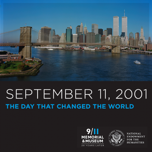 Photo of Manhatten less than thirty minutes before the terrorist attacks on the World Trade Center.