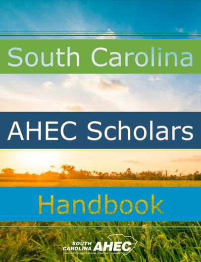 cover of South Carolina AHEC Scholars Handbook